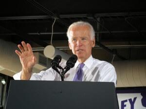 Vice President Joe Biden in Davenport. Photo courtesy of Mike Little