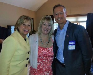 Governor O'Malley stumps for Jack Hatch and Monica Vernon in Sioux City. Photo courtesy of Kim Weaver