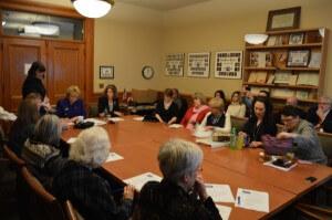 Press listen to legislators and progressive activists at first Moral Monday meeting