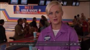 large banner at bowling