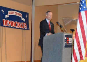 O'Malley addresses the crowd