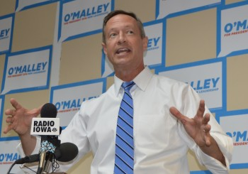 Martin O'Malley Finds Warm Iowa Reception For New Leadership Message