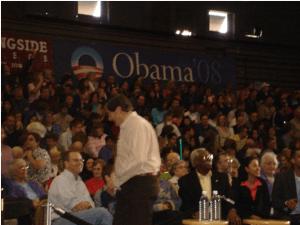 Obama rally 2007