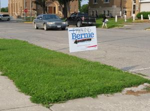 Bernie Sanders Parking