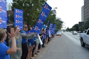 Hillary HOF Rally