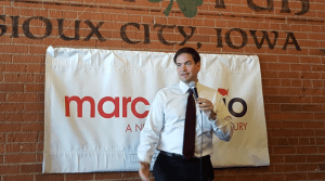 Marco Rubio Campaigns in Sioux City