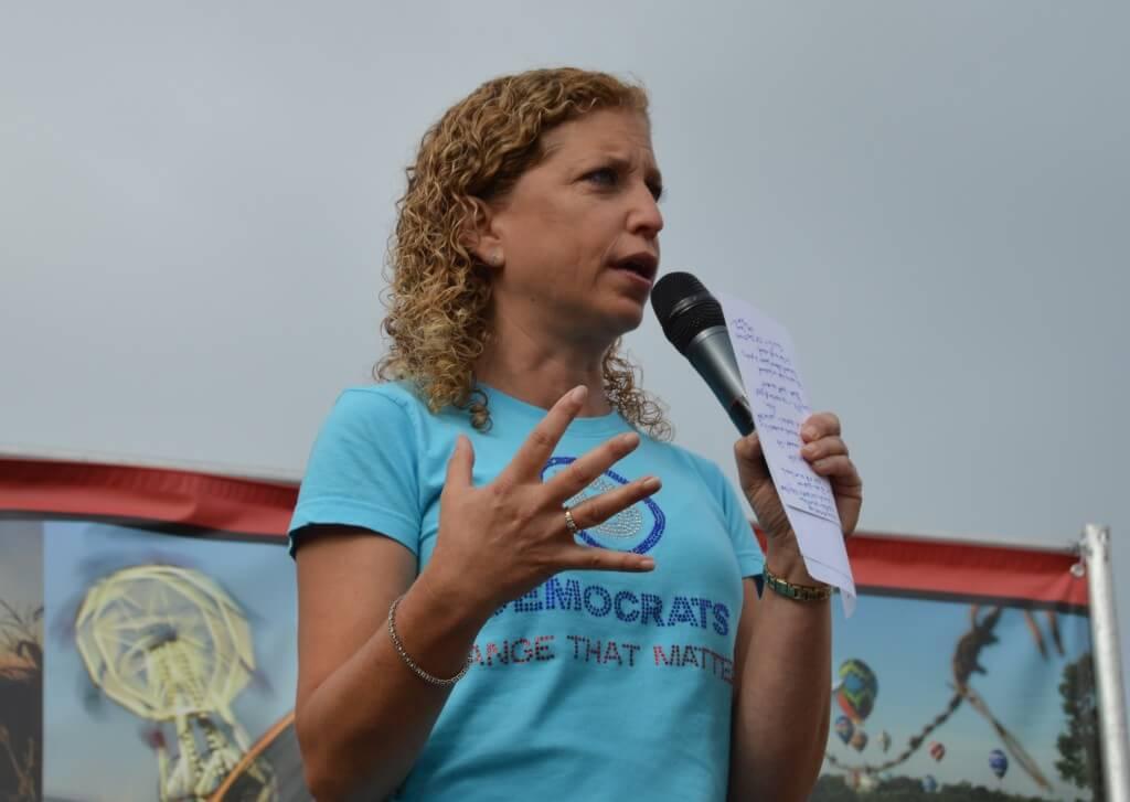 Debbie Wasserman Schultz State Fair 1