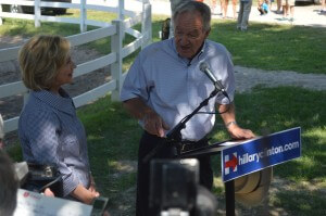 Hillary Clinton State Fair 2