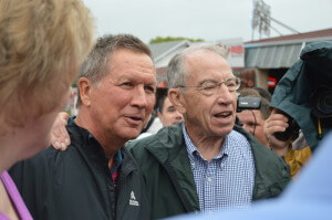 Kasich met up with Grassley later