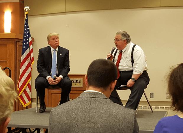 Sam Clovis Donald Trump 2