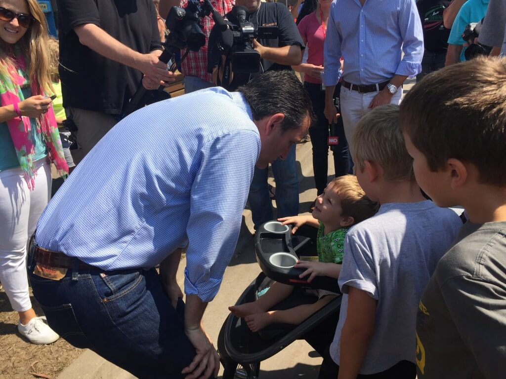 Ted Cruz State Fair 2