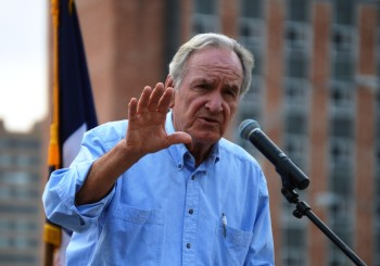 Retired Harkin Pitches Policies To The Left Of Sanders