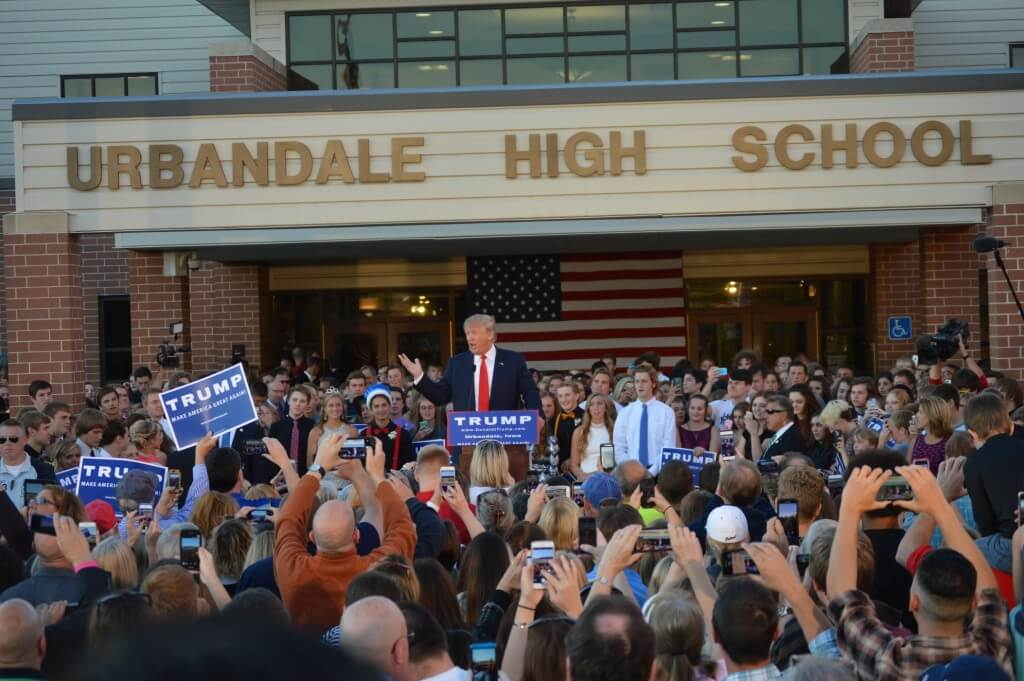 Donald Trump Urbandale 2