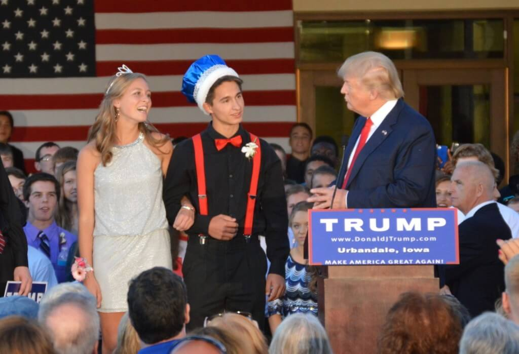Donald Trump Urbandale 3