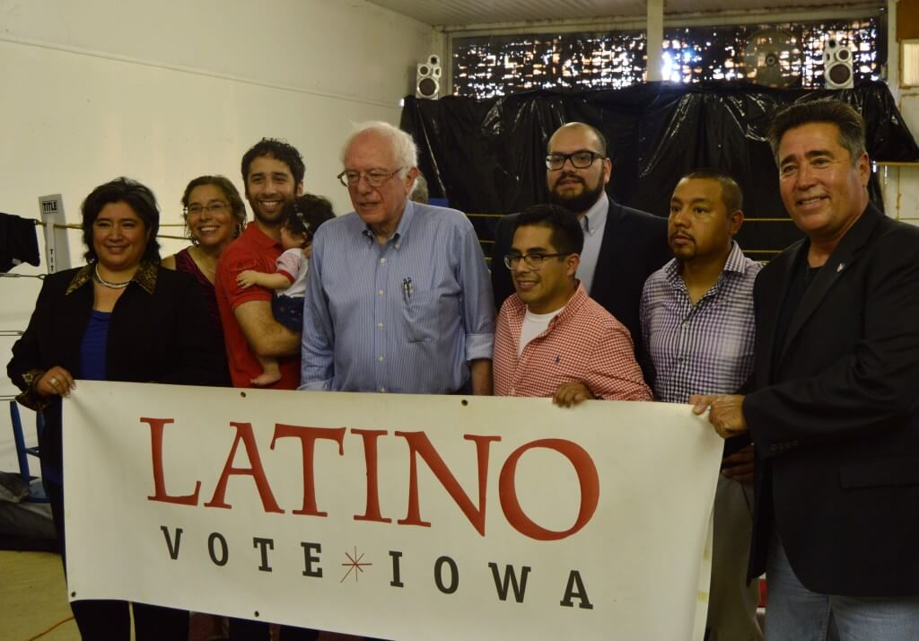 Latino Vote Iowa Caucus