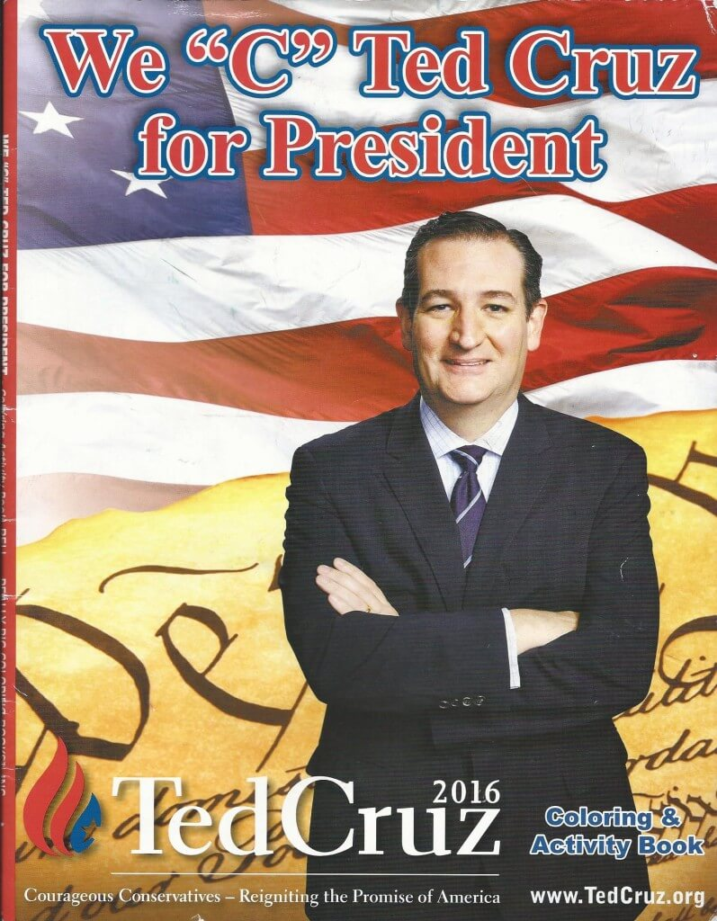 Cruz coloring book 1