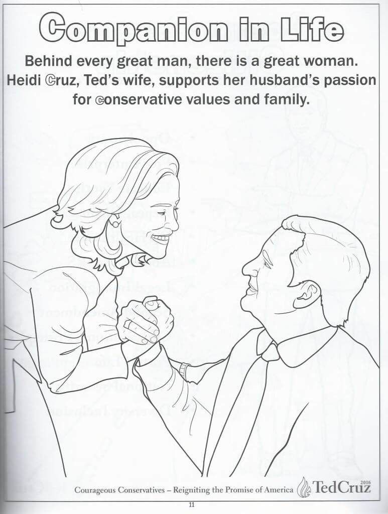 Cruz coloring book 10