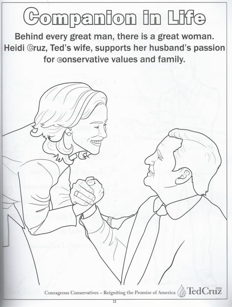 Cruz coloring book 10