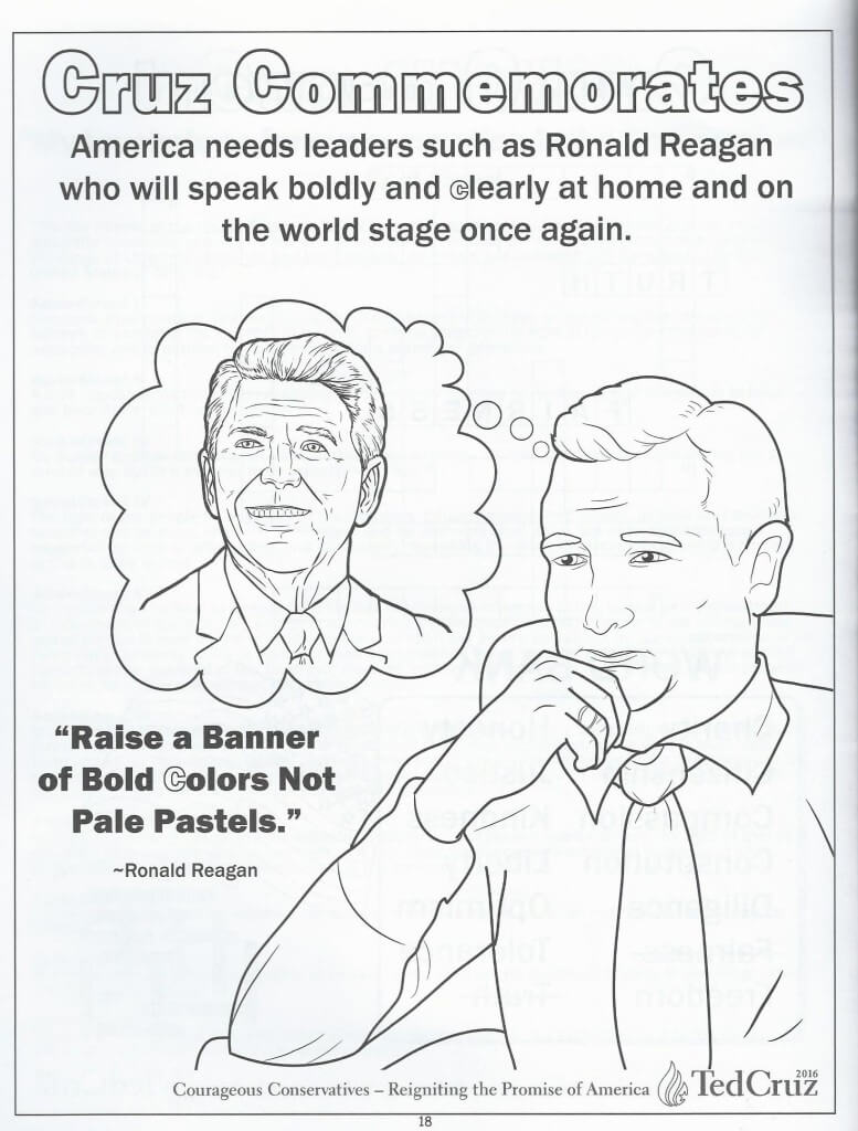 Cruz coloring book 17