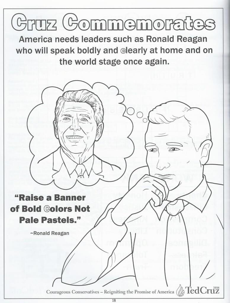 Cruz coloring book 17
