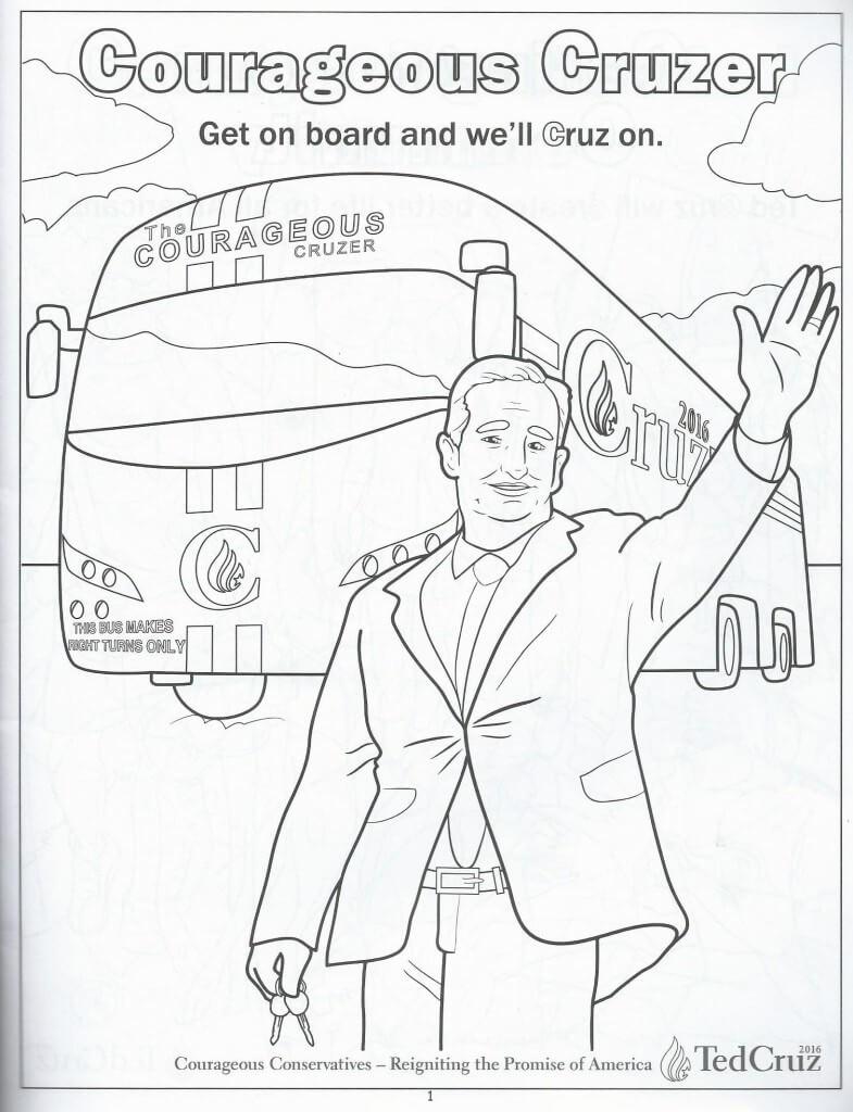 Cruz coloring book 2