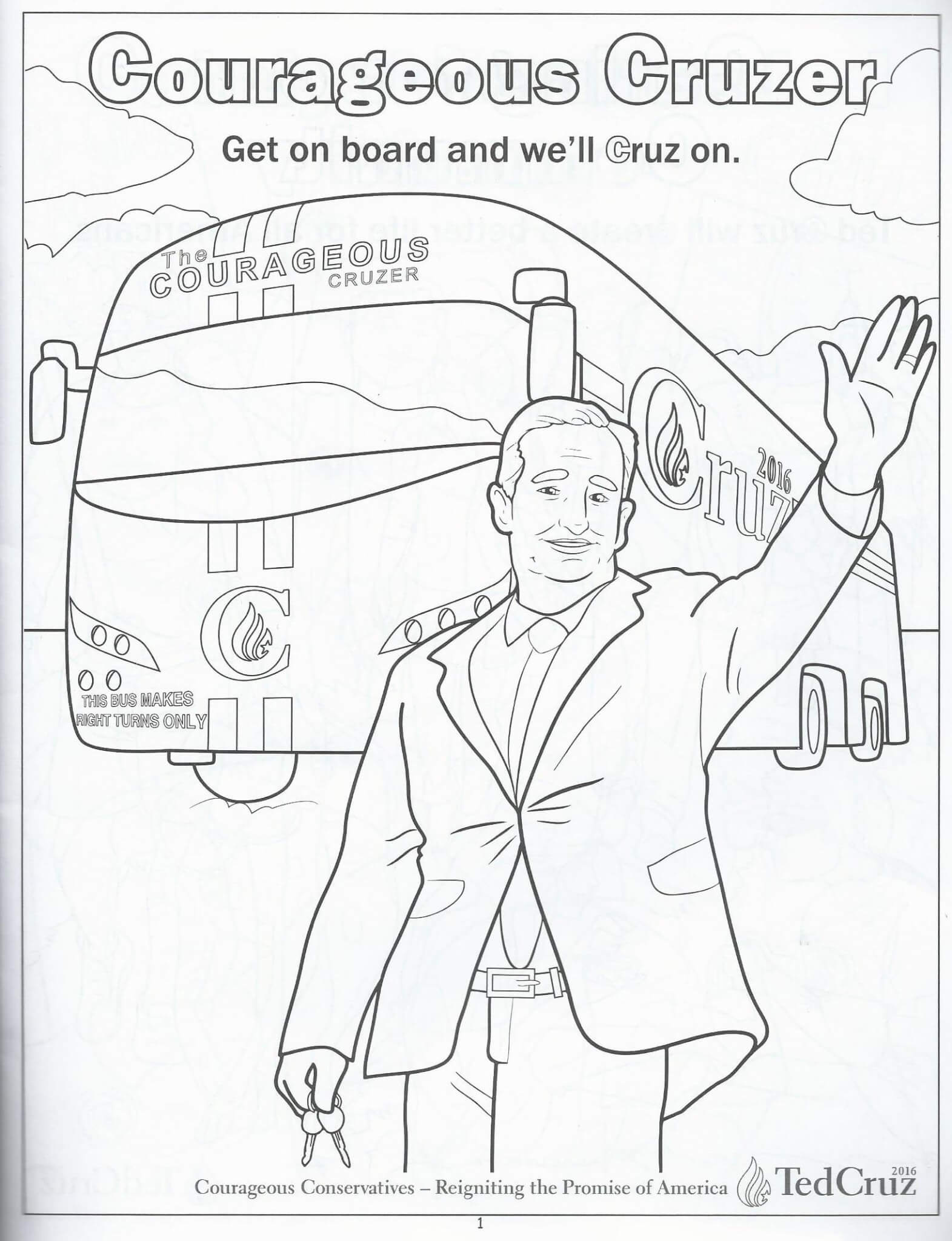 We Review Ted Cruzs Ridiculous Childrens Coloring Book