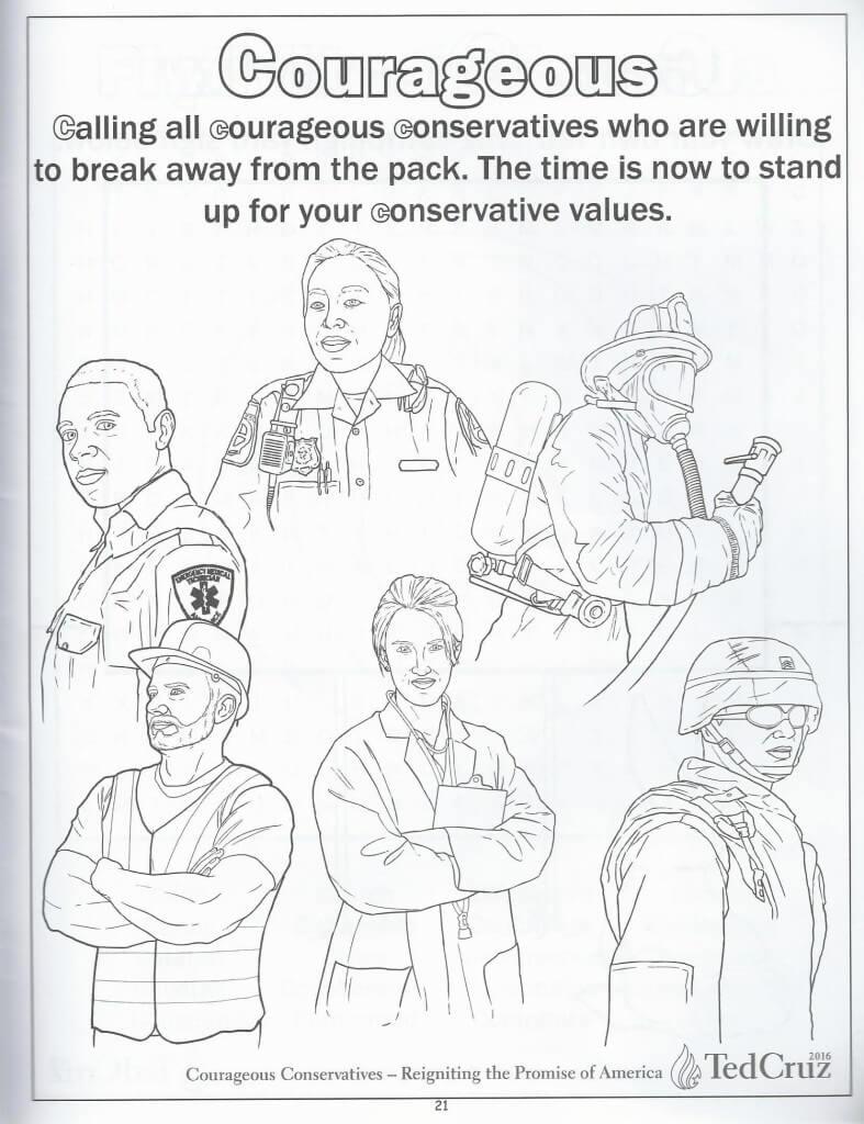 Cruz coloring book 20