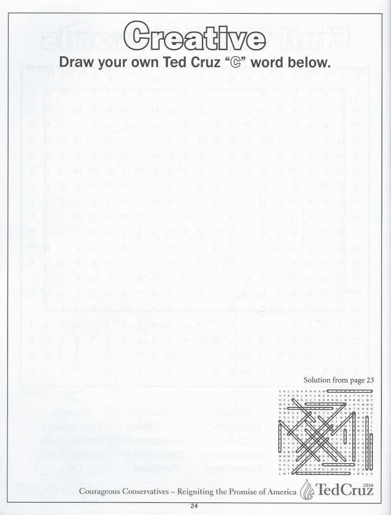 Cruz coloring book 22