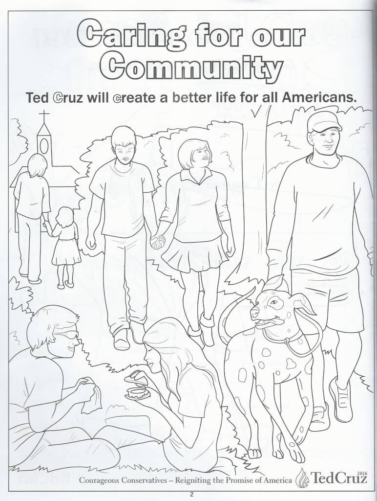 Cruz coloring book 3