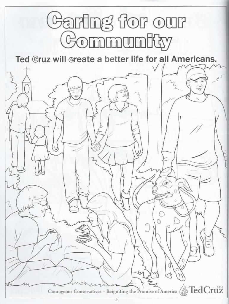 Cruz coloring book 3