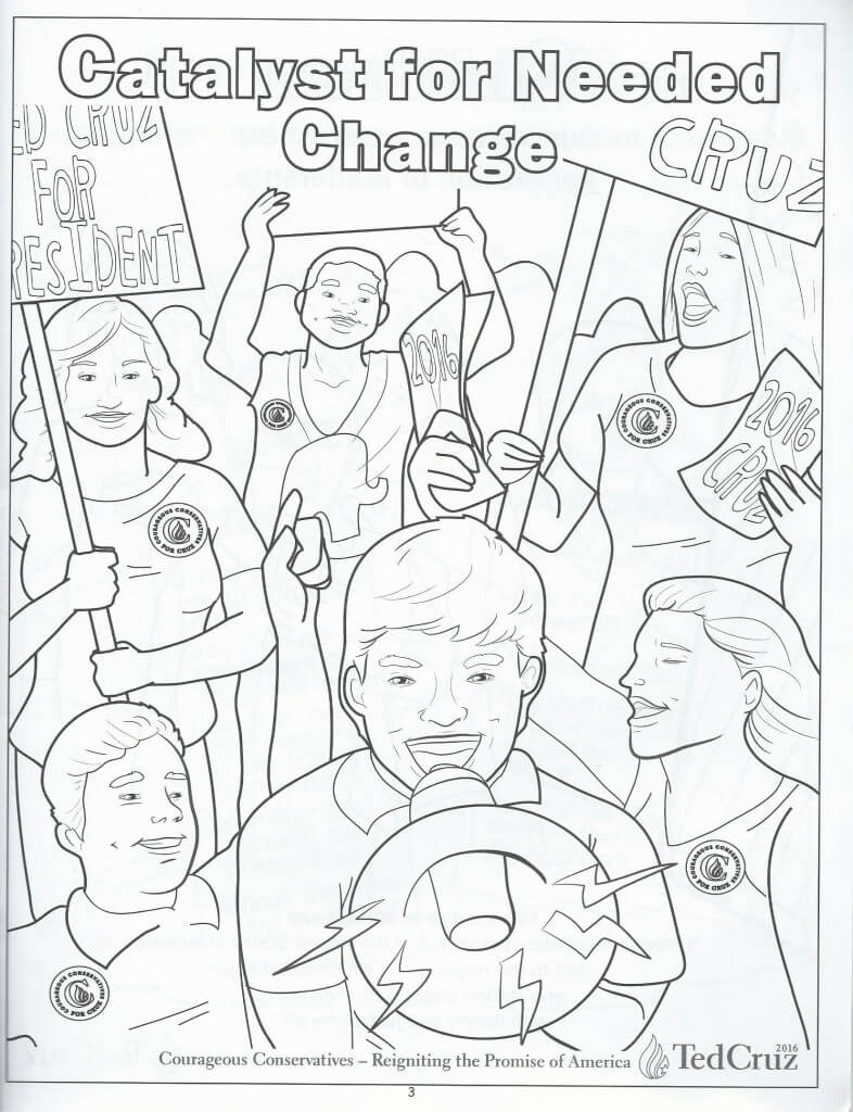 Cruz coloring book 4