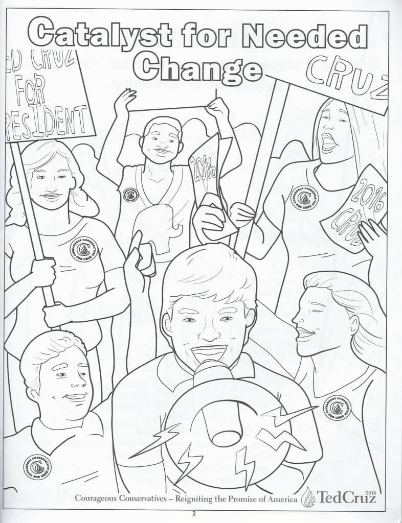 Cruz coloring book 4