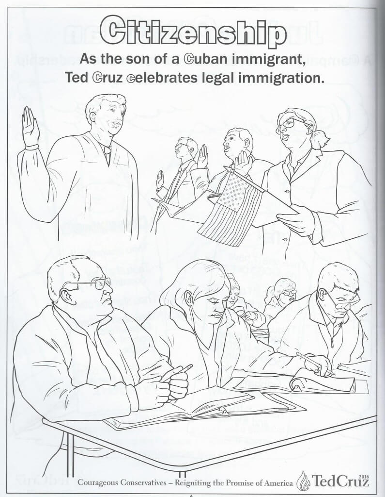 Cruz coloring book 7
