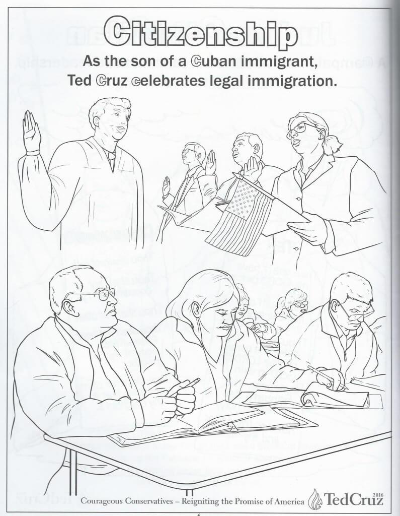 Cruz coloring book 7