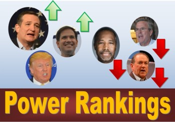 Monday Power Ranking: Iowa Caucus – Republicans (November)