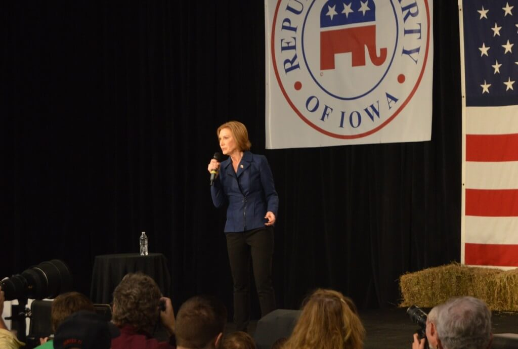 GOParty Carly Fiorina
