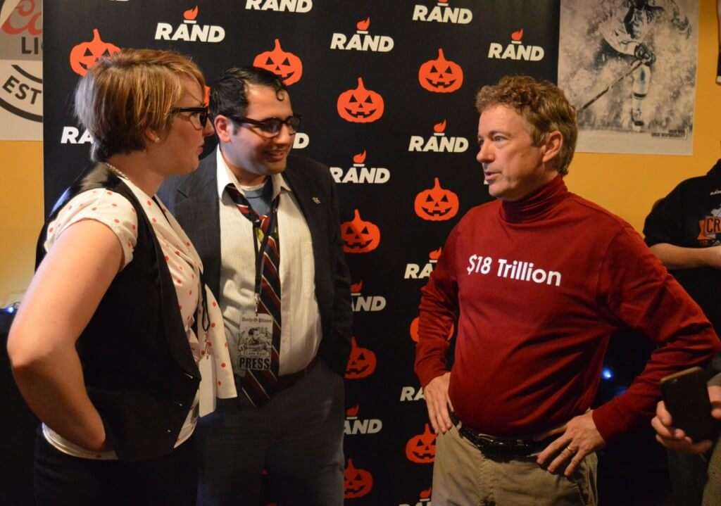 Rand Paul Halloween 1