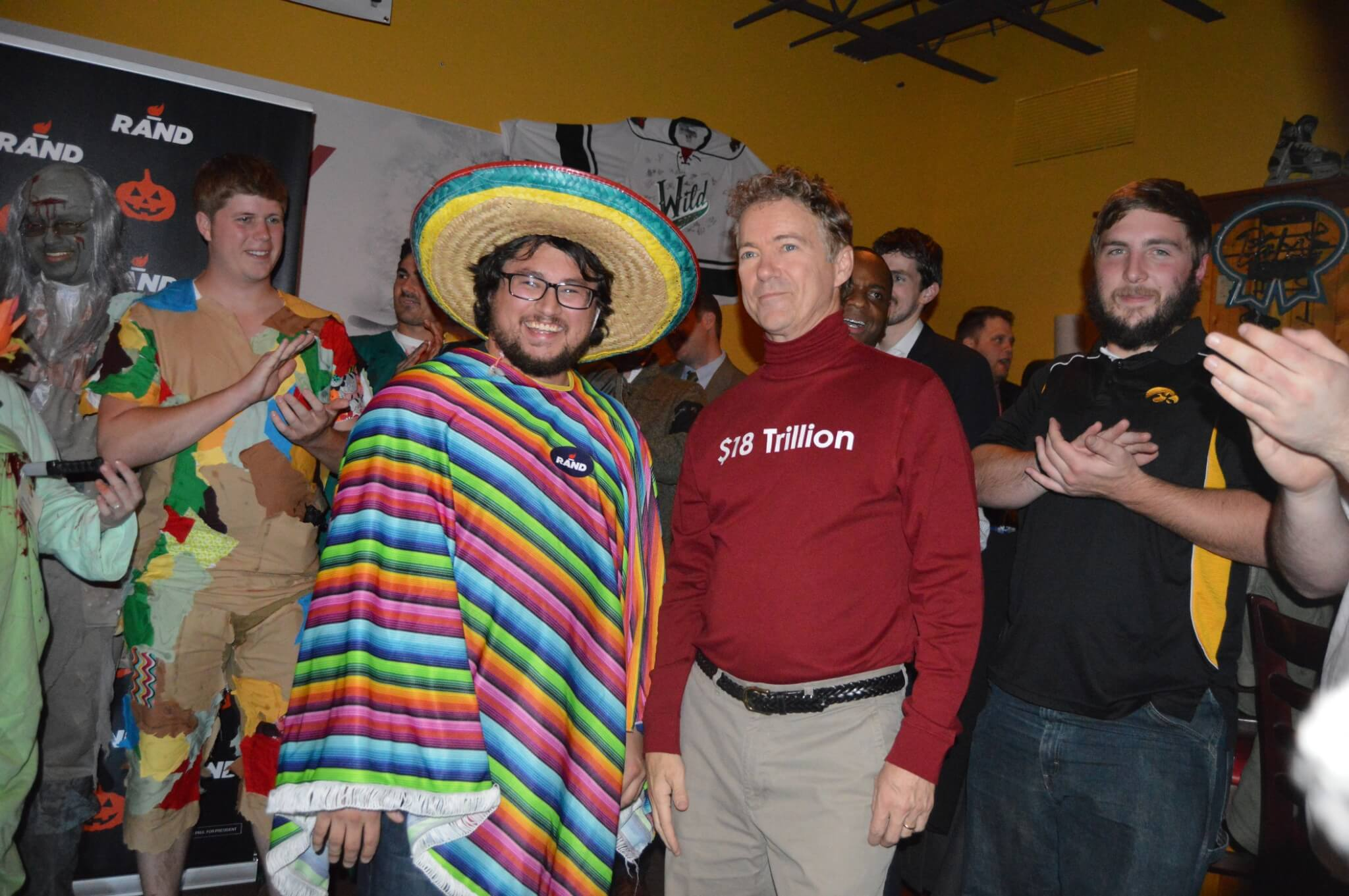 Photos: Iowa Republicans' Spooky (And Silly) Halloween Costumes ...
