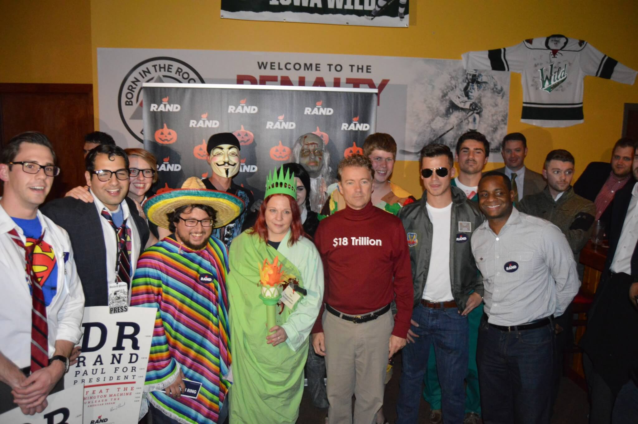 photos: iowa republicans' spooky (and silly) halloween costumes