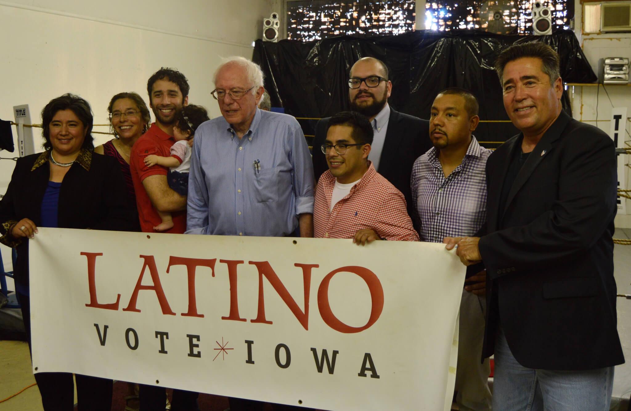 Latino Caucus Sanders