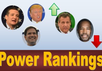Monday Power Rankings: Iowa Caucus – Republicans (January)