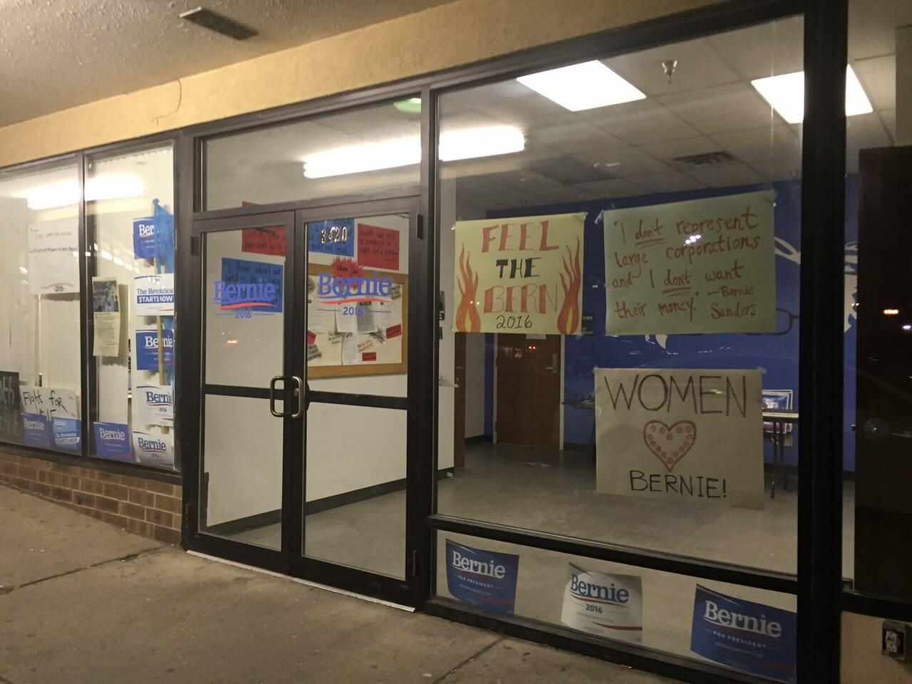 The Sanders office located on MLK and Euclid