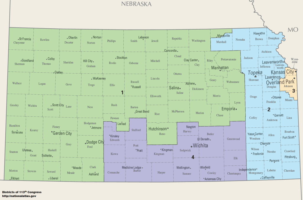 KS Congressional Districts