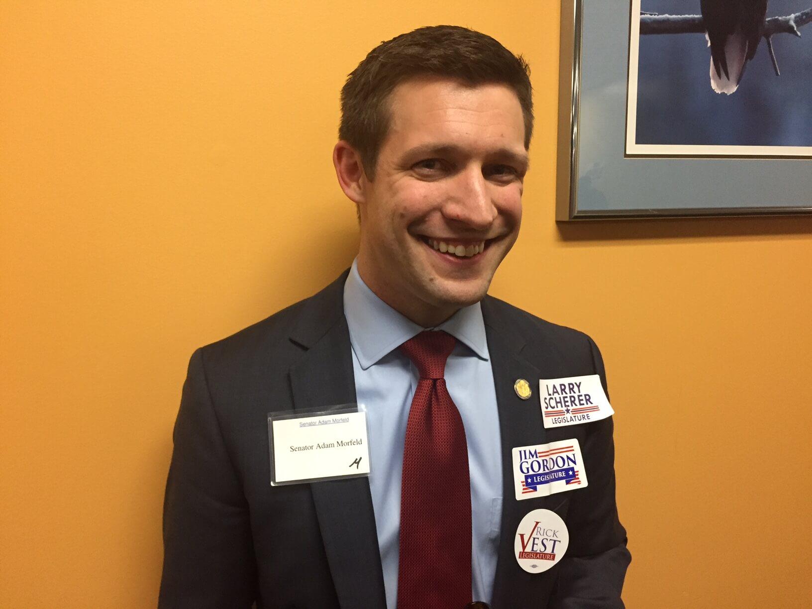 Senator Adam Morfeld, a Clinton endorser