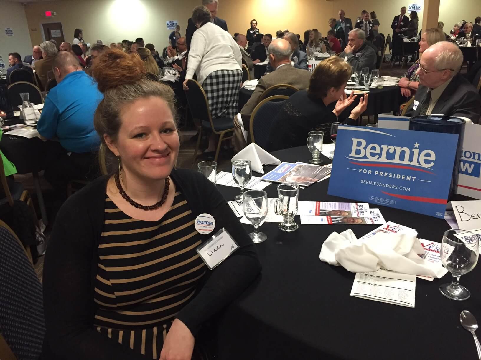 Linda Anderson has been organizing in Nebraska since April 2015