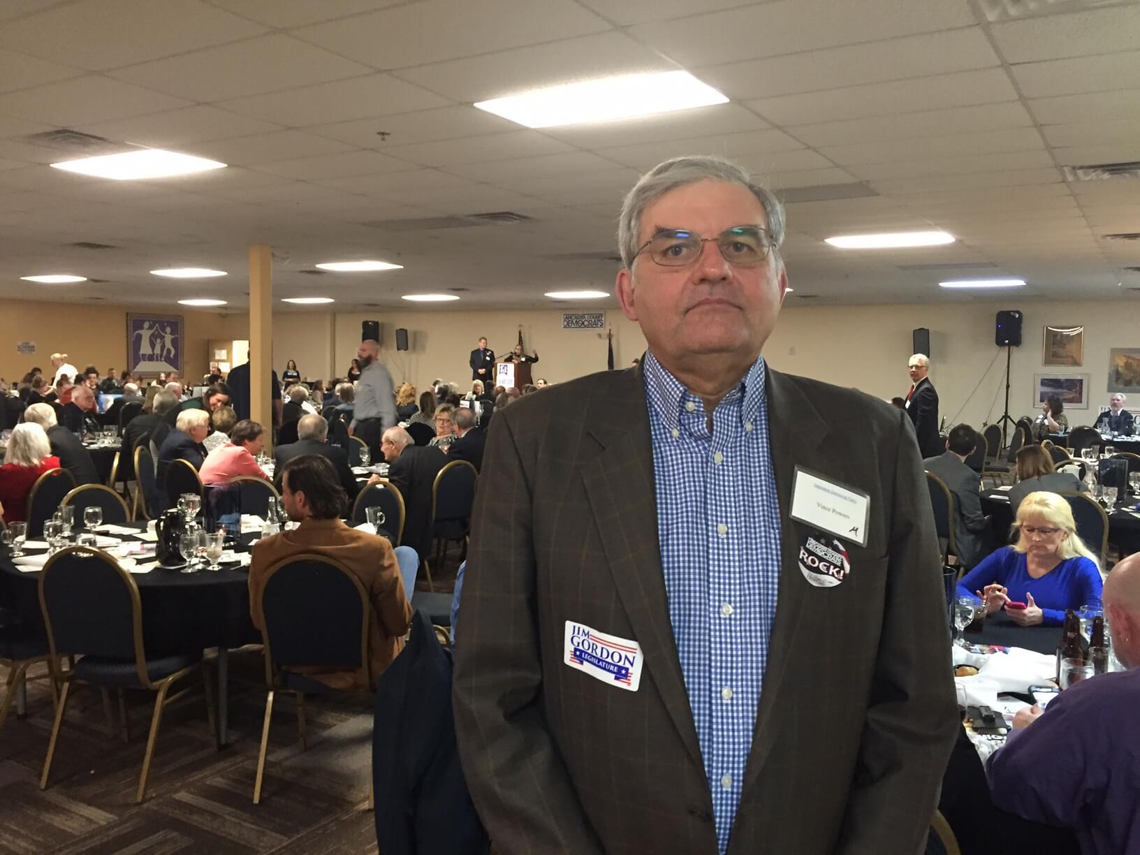 Nebraska Democrats chair Vince Powers