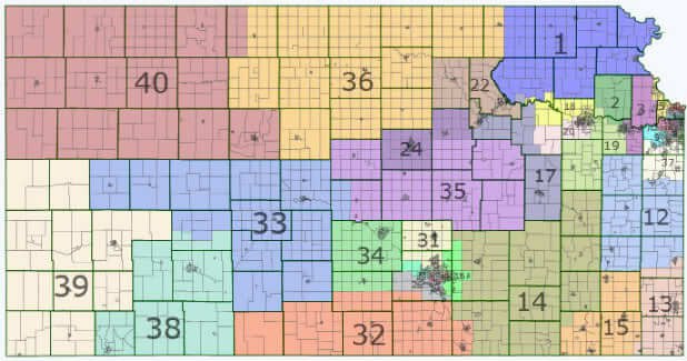 kansas senate districts