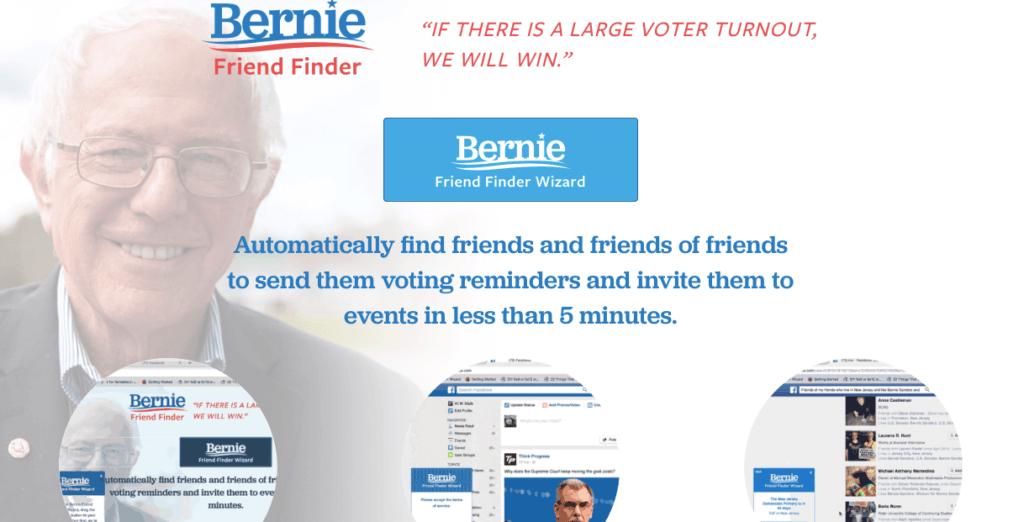 Bernie Friend Finder