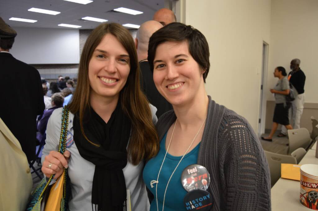 Young Sanders backers now on the central committee -