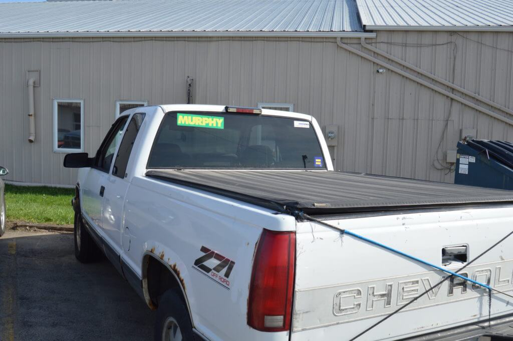 Murphy's truck that featured heavily in his 2014 ads